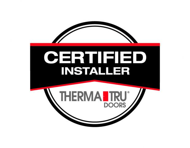 Certified Therma-Tru Dealer and Installer